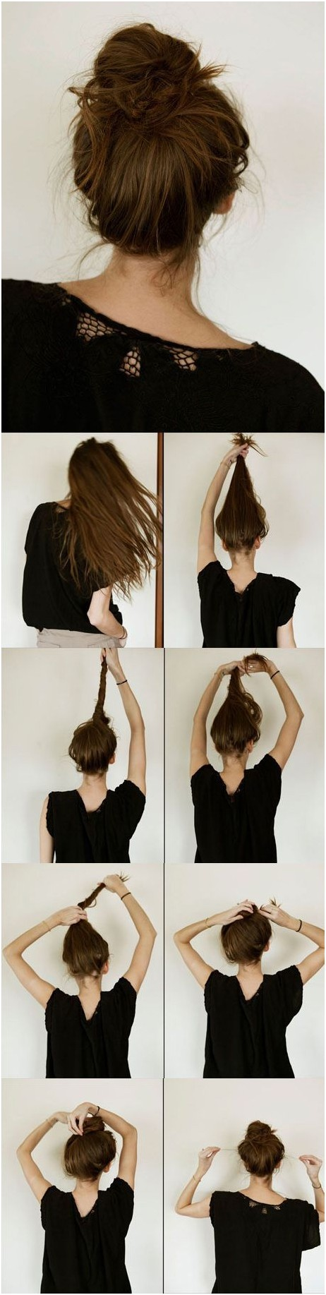 Wonderful Everyday Hairstyles For Long Hair: Messy Bun Tutorial. Messy Bun  Tutorial