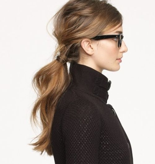 Messy-Chic Low Pony