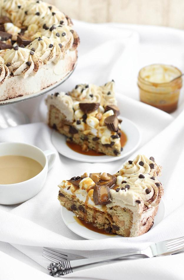 Peanut Butter Chocolate Coffee Cake