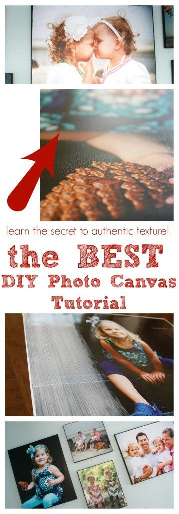 Photo Canvas Tutorial
