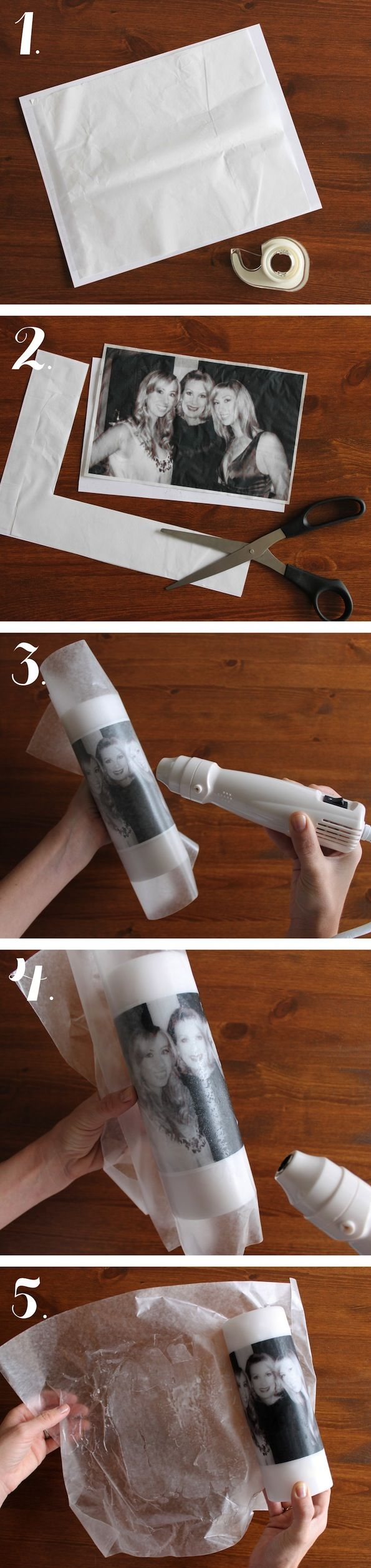 Picture Candle Tutorial
