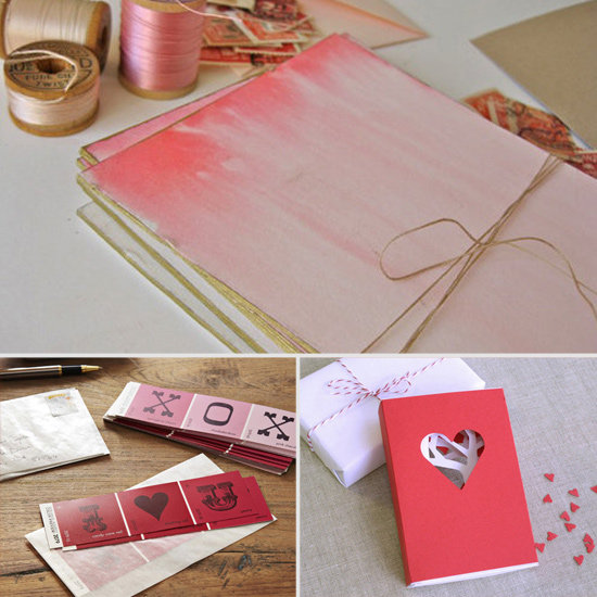 DIY Cards for Valentines Day Pretty Designs – Valentine Handmade Card Ideas