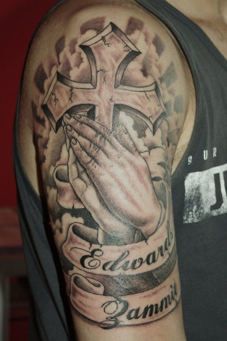 The Family That Prays Together Stays Together Tattoo