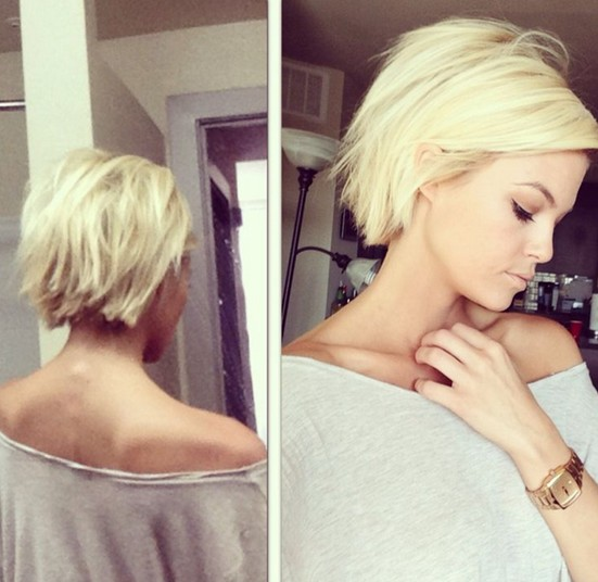 Best Short Hairstyles for 2015: Short Choppy Bob Haircut