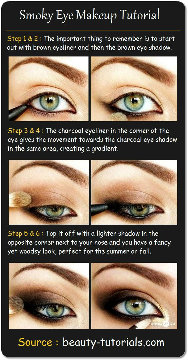 10 Eye Makeup Tutorials For Beginners Pretty Designs
