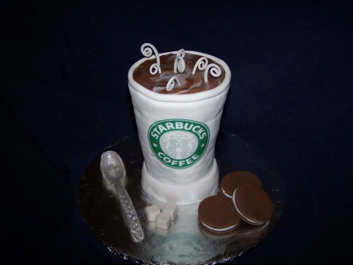 Starbucks Coffee Cupcake