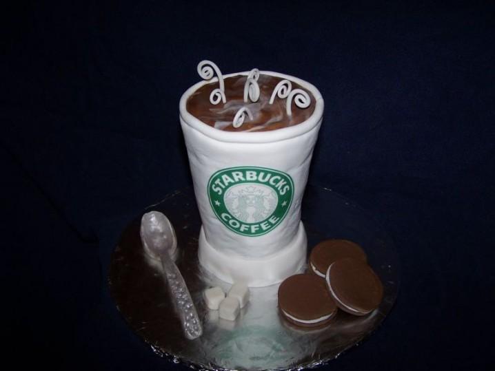 Starbucks Coffee Cupcake