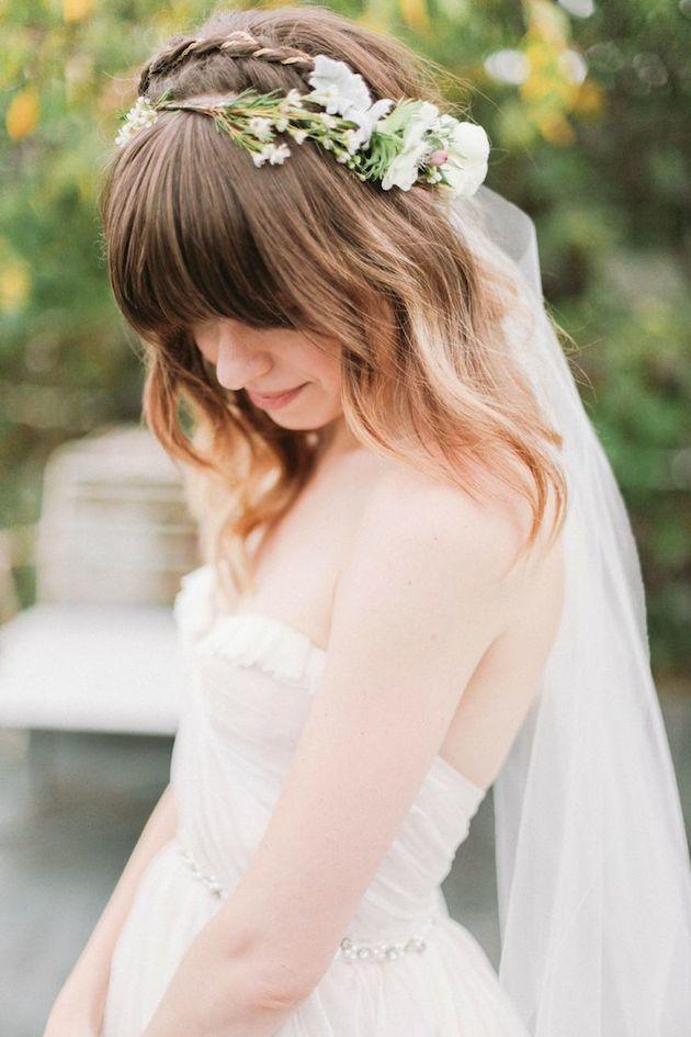 15 Gorgeous Bridal Hair With Bangs Pretty Designs