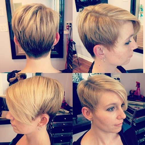 Trendy short  hairstyles 2015