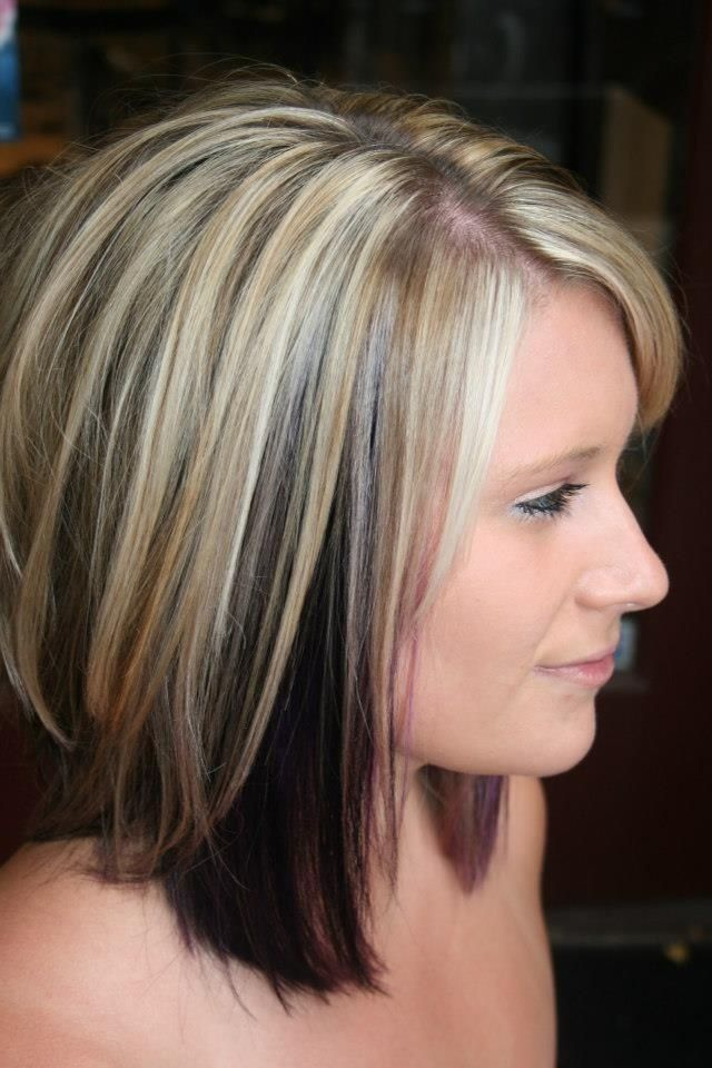10 Two-tone Hairstyles You Must Love - Pretty Designs Brown Hair With Red Tips Tumblr