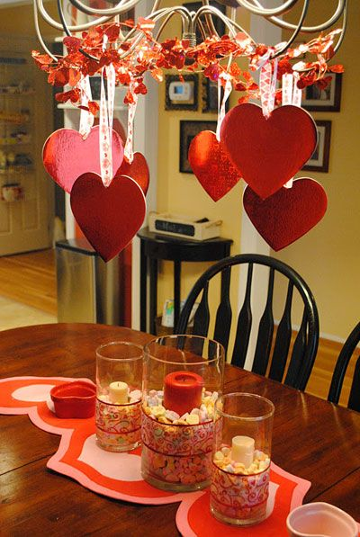 Table decorations for valentine s day pretty designs - Valentine day decoration ideas ...