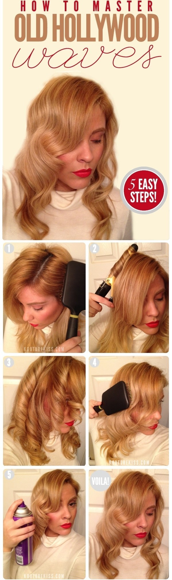 30 diy vintage hairstyle tutorials for short medium long hair lauren bacall39 solutioingenieria Choice Image