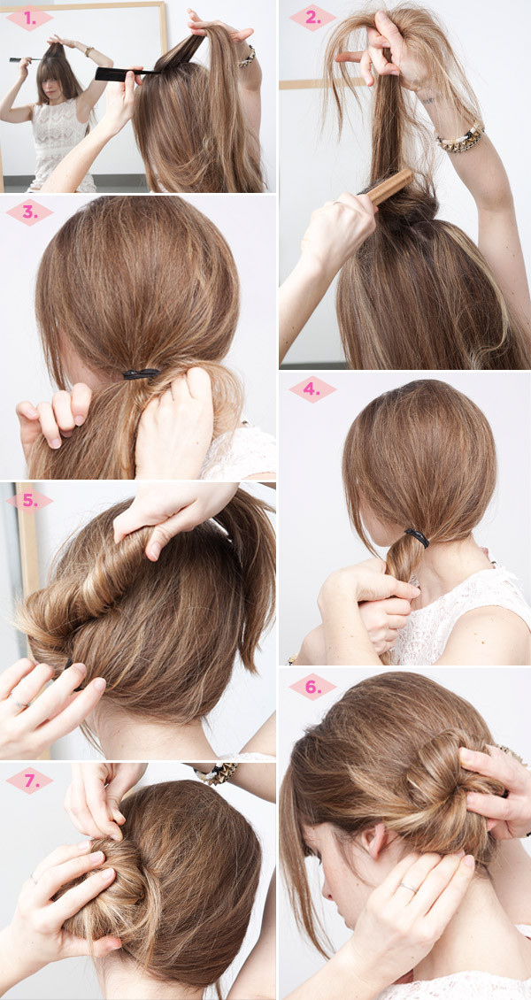 simple style for hair 27 easy five minutes hairstyles tutorials pretty designs 8073