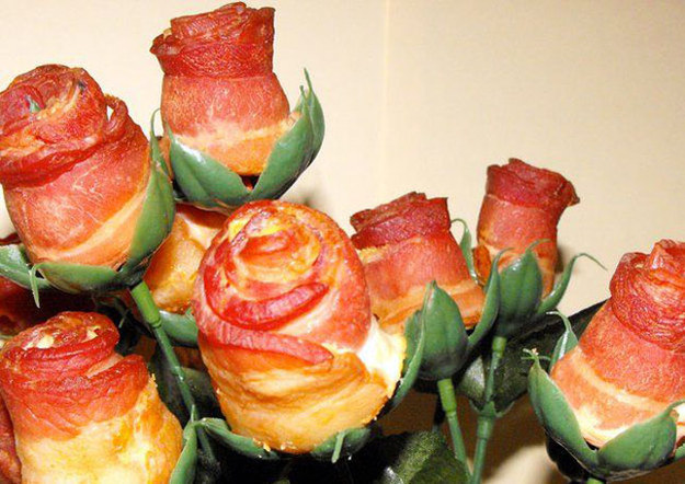 Bacon Rose Bouquet