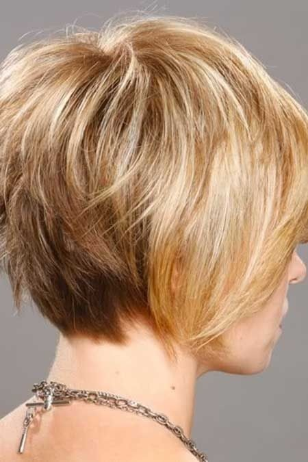 Blond Bob Hairstyle for Thin Hair