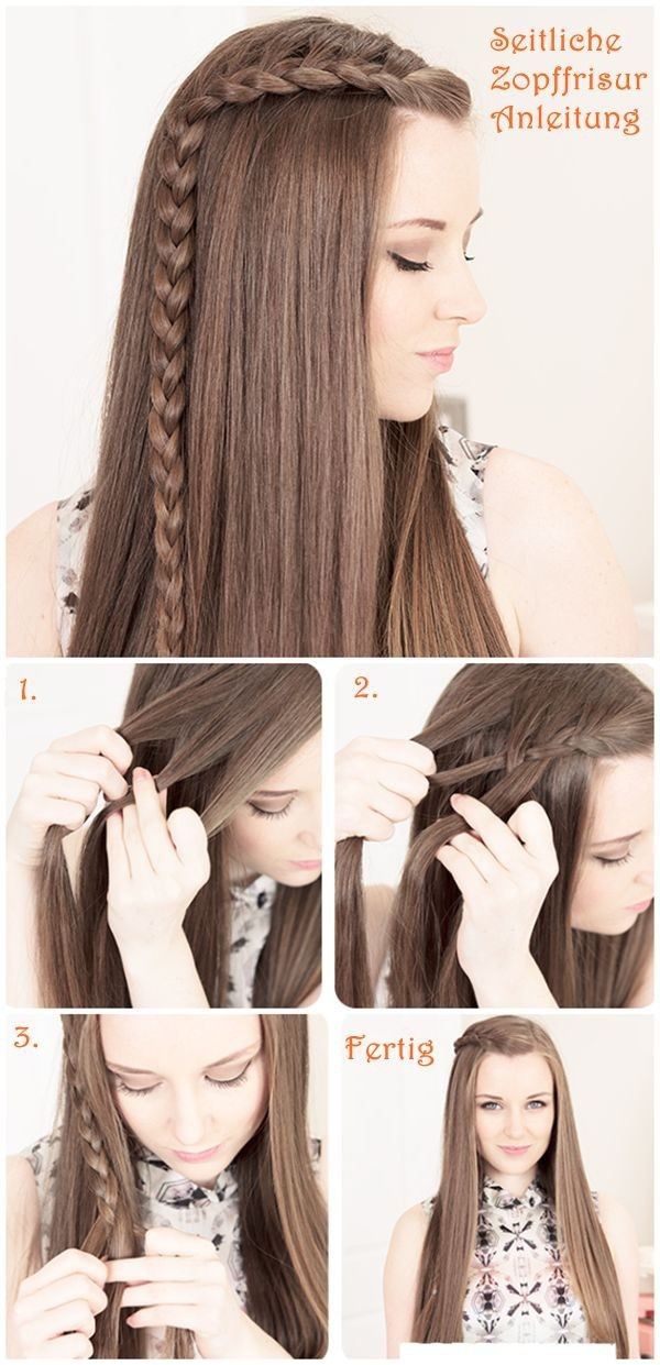 Braided Bangs Hairstyle Tutorial