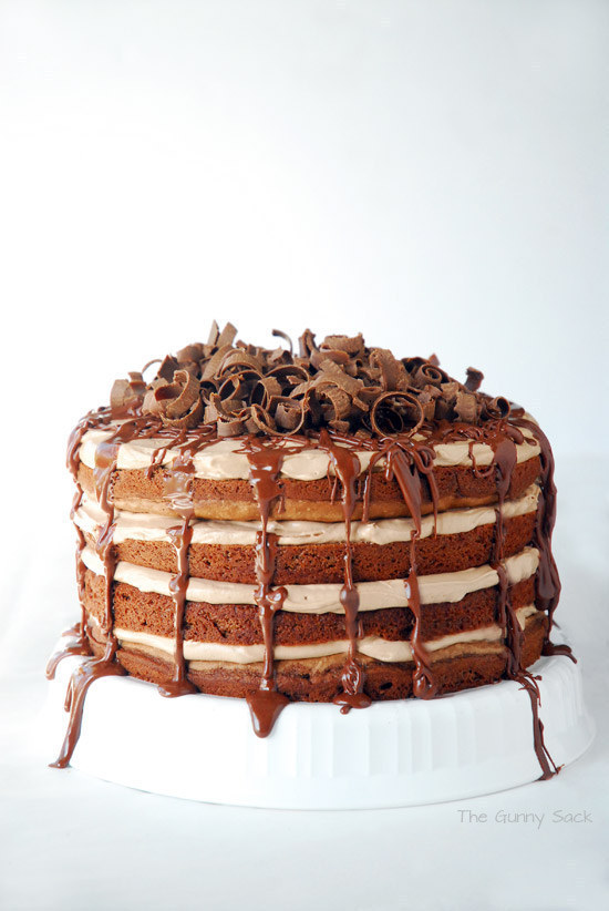 Chocolate and Nutella Torte