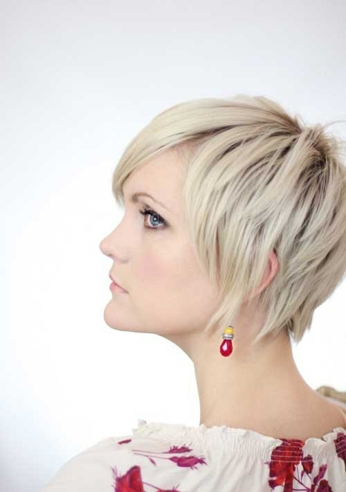 Short Pixie Cut with Layers