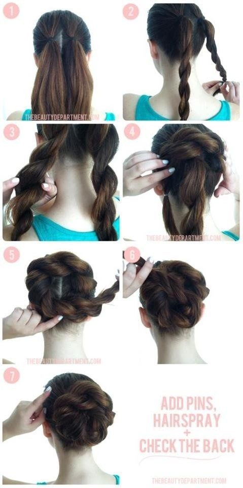 Awesome 15 Beautiful Long Hairstyles With Tutorials Pretty Designs Short Hairstyles Gunalazisus