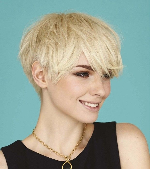 Layered Hairstyle Idea for Short Hair