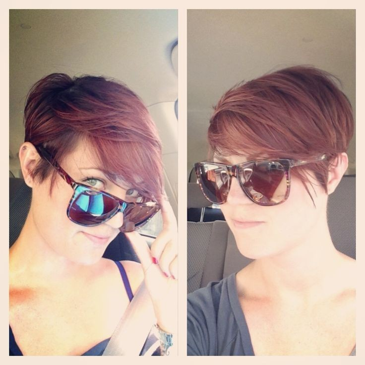 Layered Pixie Haircut for Woman