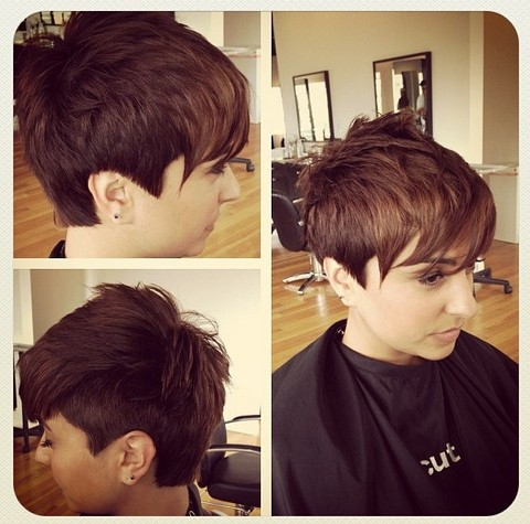 Magnificent 33 Cool Short Pixie Haircuts For 2017 Pretty Designs Short Hairstyles For Black Women Fulllsitofus