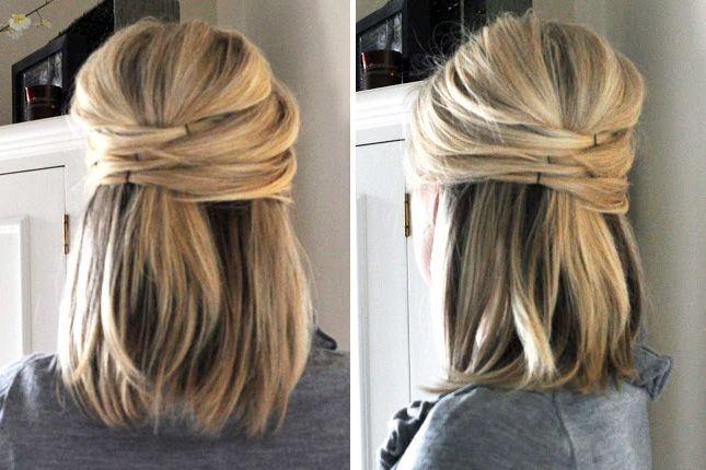 Office Hairstyles Medium Hair