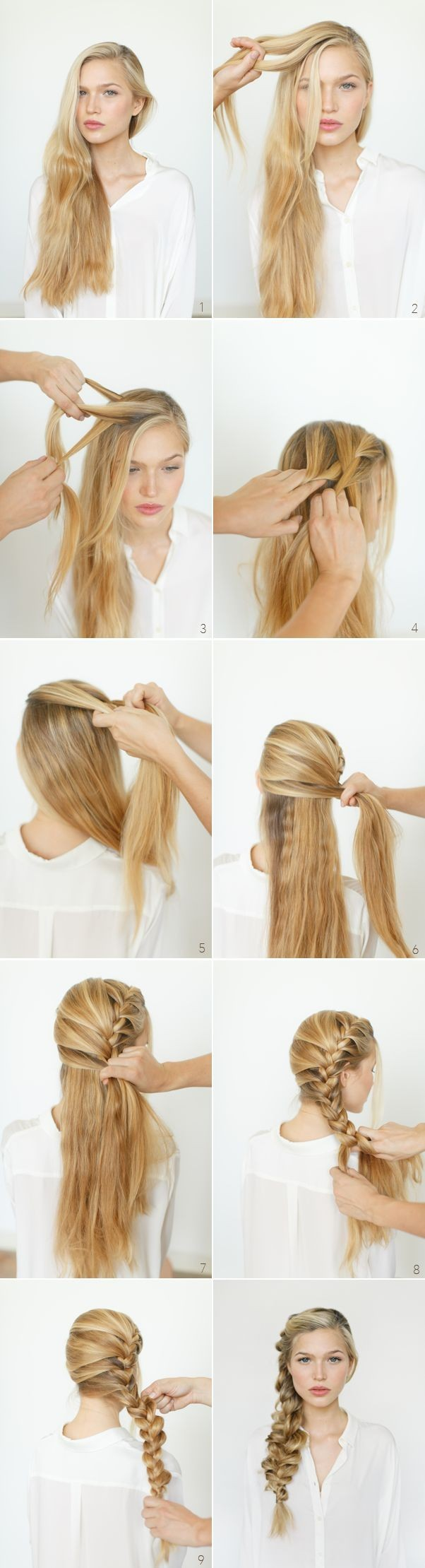 Romantic Side Braid Hairstyle Tutorial