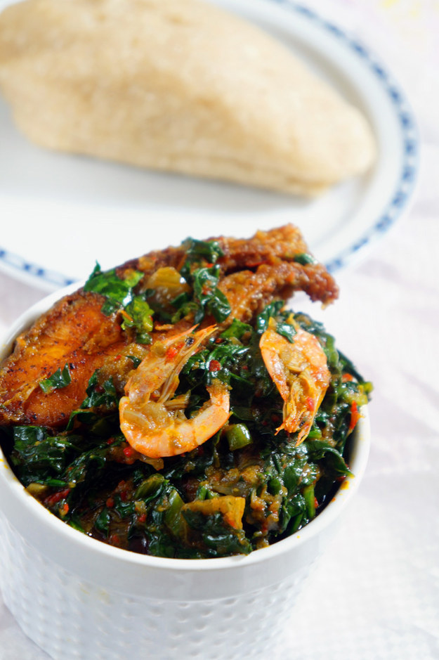 Seafood Spinach Stew
