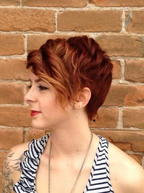 Short Curly Hairstyle for Brown Hair