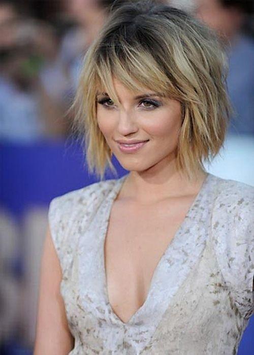 Short Haircut with Bangs for Women