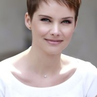 Short Layered Pixie Haircut for Women