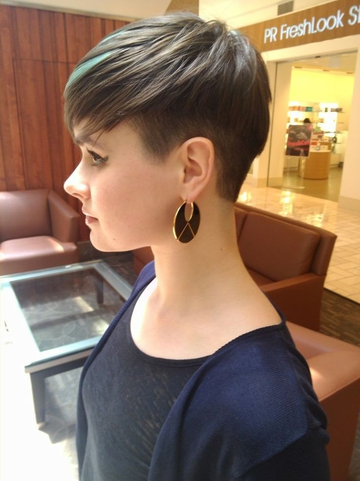 Short Undercut for Black Hair