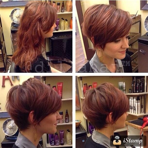 Short Wavy Hairstyle