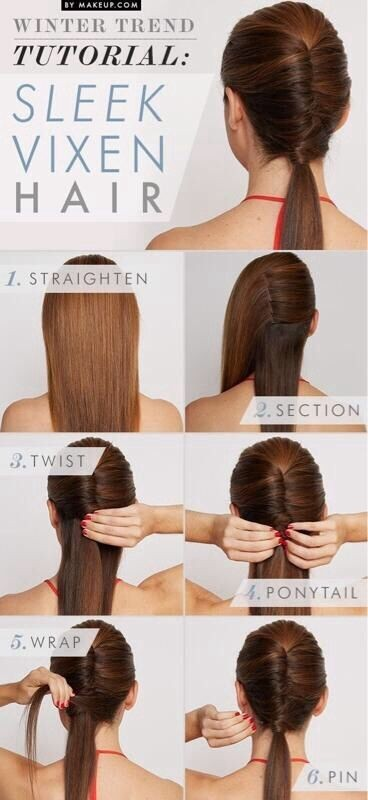Sleek Vixen Hair Tutorial