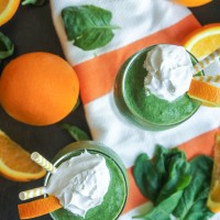Spinach Dreamsicle Smoothie