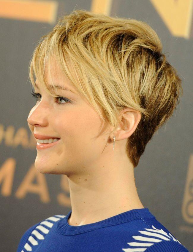Blond Pixie Haircut