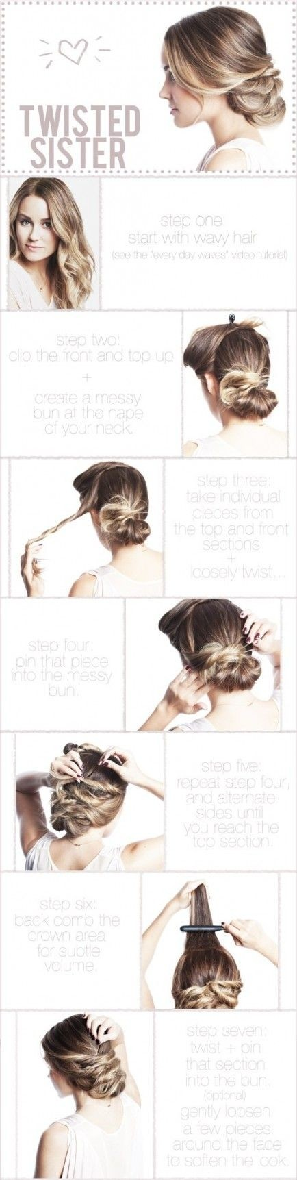 Twisted Updo Tutorial