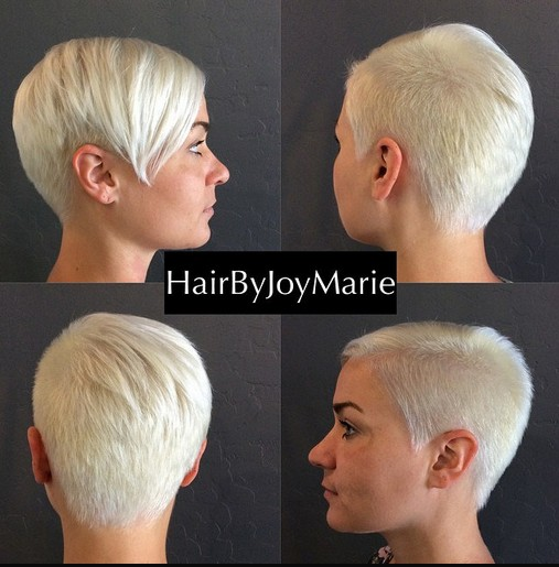 33 cool short pixie haircuts for 2018 pretty designs very short hairstyle with long bangs winobraniefo Image collections