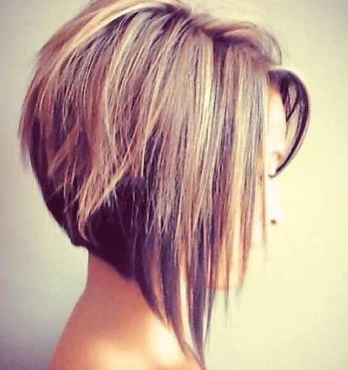 A Line Bob Hairstyle for Short Hair