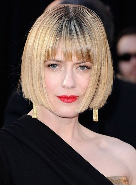 Blunt Bob Hairstyles for Women Over 40