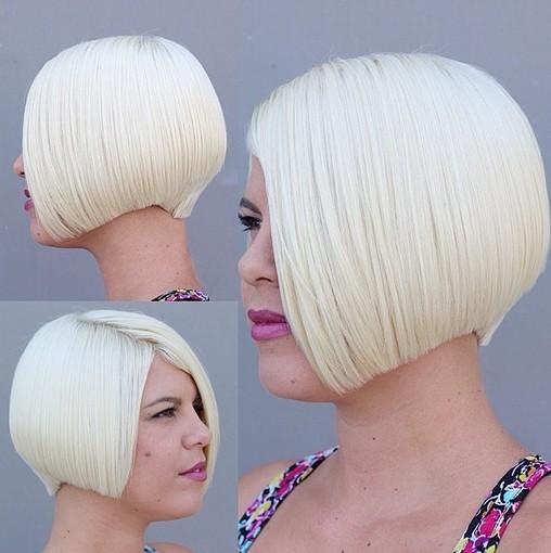 Bob Haircut for Light Blonde Hair