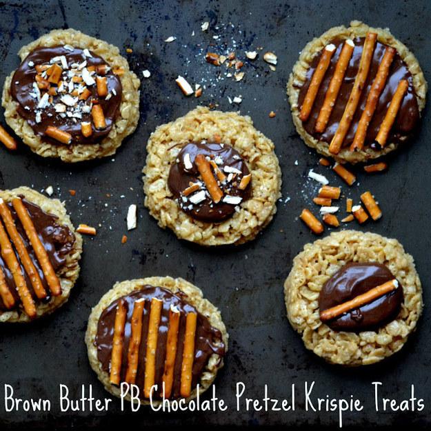 Brown Butter Peanut Butter Chocolate