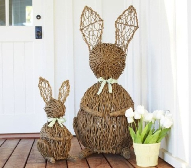 15 Ideas to Decorate Your Home For Easter - Pretty Designs