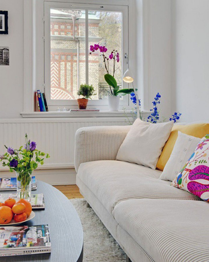 Colorful Decorating Ideas For Small Living Room: Home Decorating: Spring Decorations For Your Home