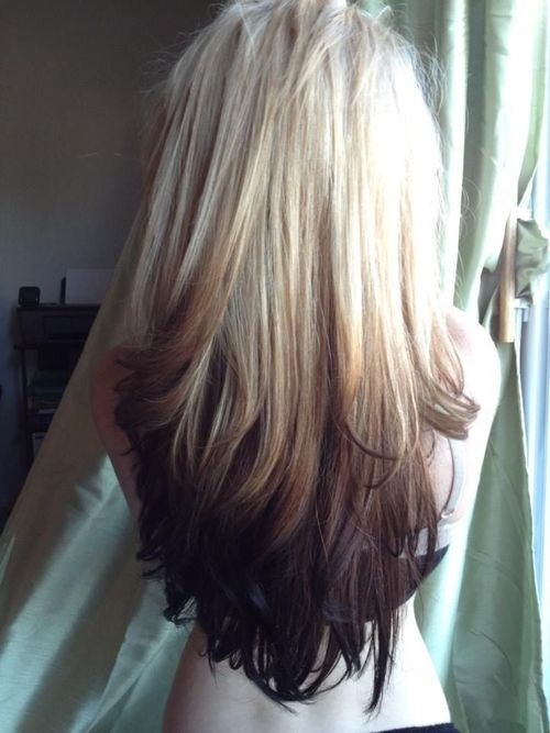 Cute Long Hairstyle for Ombre Hair