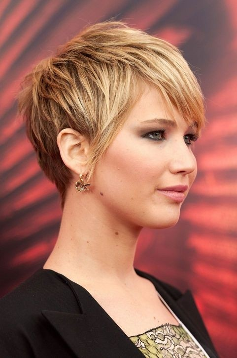 Short Layered Haircut for Blond Hair