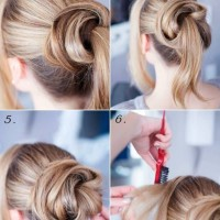 Cute Updo Tutorial for Long Hair