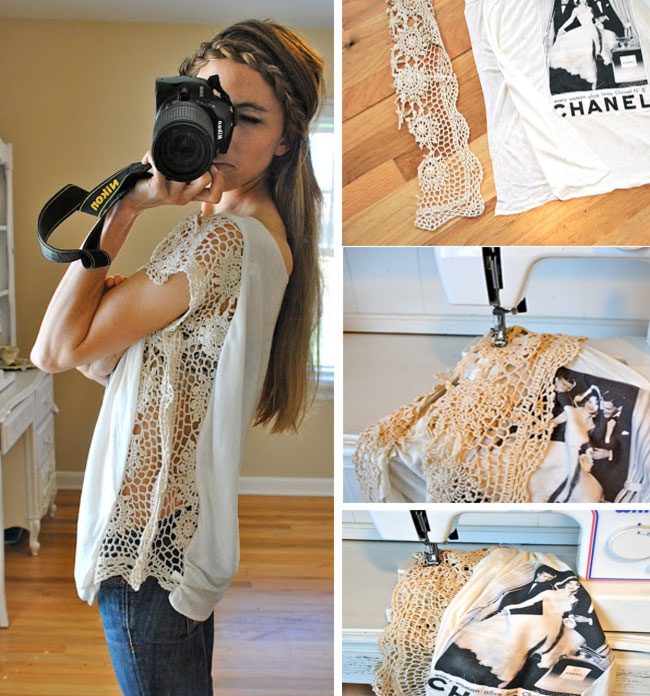 Easy t shirt cutting ideas joy studio design gallery for Diy t shirt design