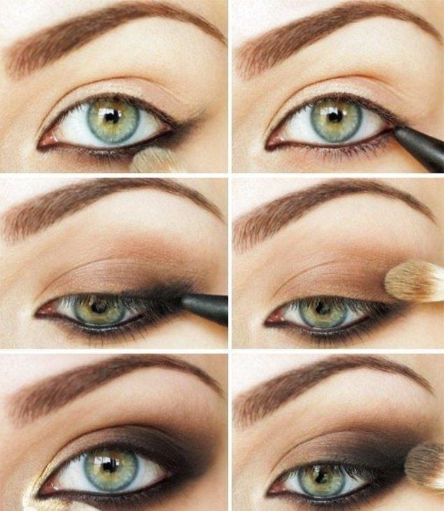 Dark Brown Makeup